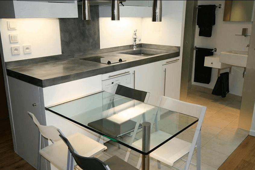 que pensez vous du tadelakt pour un plan de travail de cuisine. Black Bedroom Furniture Sets. Home Design Ideas