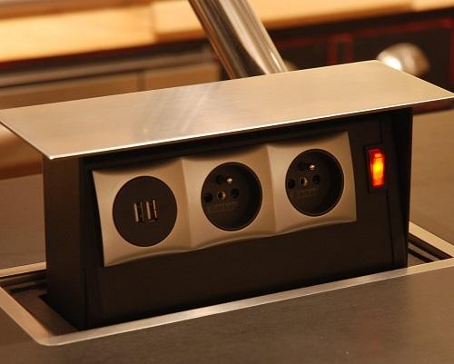 Comment Installer Une Prise Electrique Sur Un Ilot Central De Cuisine