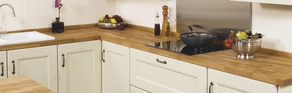 Plan de travail en bois exemples de r alisations en photo - Cuisine renovation plan de travail ...