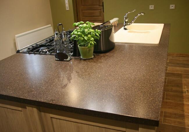 resine plan de travail free cuisine resine plan de travail cuisine avec gris couleur resine. Black Bedroom Furniture Sets. Home Design Ideas